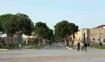 Ташкентская улица мастеров в самарканде