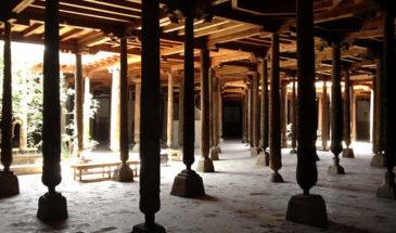 Джума-мечеть и минарет при ней